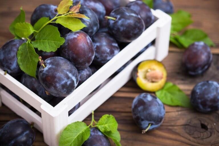 Les prunes, des fruits qui ne comptent pas pour des prunes pour votre santé.
