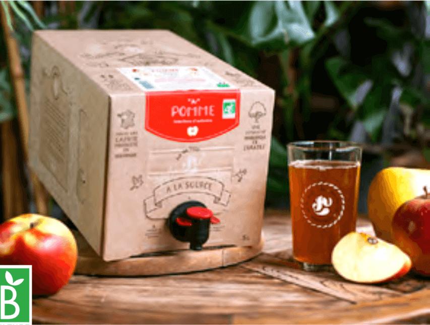 Box de jus de fruits pommes BIO