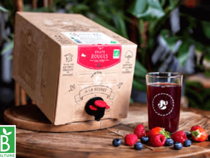 Box de jus de fruits fruits rouges BIO